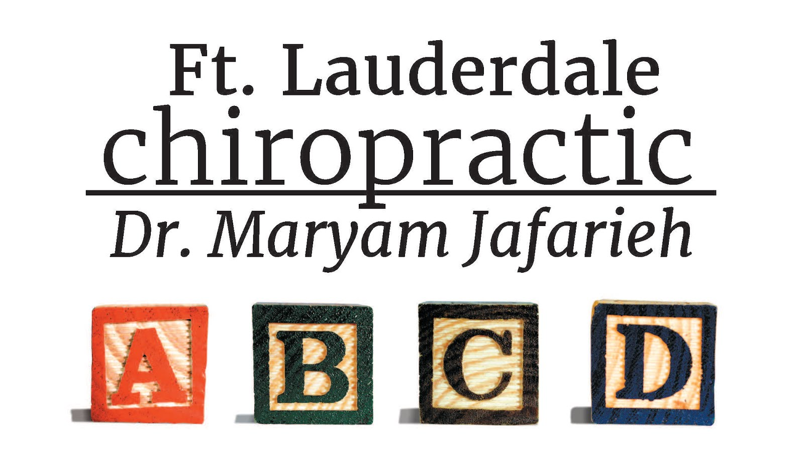 Ft. Lauderdale Chiropractic