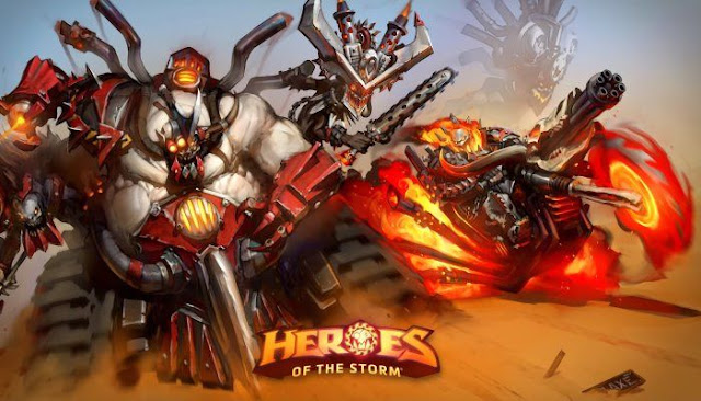 Heroes of the storm anunció nuevo parche IN DEV !