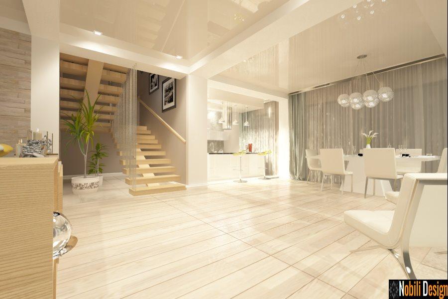 Proiecte de casa cu etaj la cheie-Design interior case vile