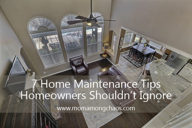 7 Home Maintenance Tips That Homeowners Shouldn't Ignore