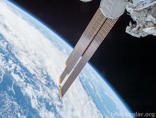 Uzaydan Dünya fotoğrafı