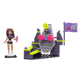 MH Fear Squad Clawdeen Wolf Mega Blocks Figure
