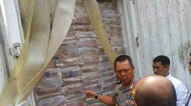 Parah, Lima Ton Ikan Berformalin Ilegal Asal Cina Ini Akan Diedarkan di Lampung Utara