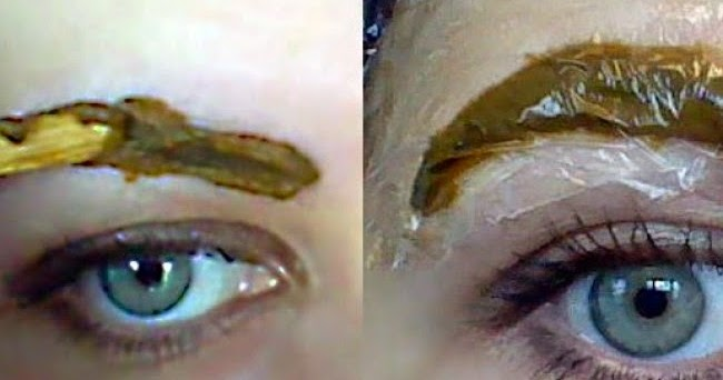 Naturally Dye Your Eyebrows With Henna Mehndi Natural