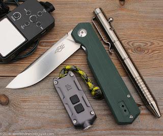 Ganzo Firebird FH11, Nitecore TIP and Fura titanium bolt action tactical pen
