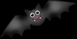 Clipart de Murciélagos para Halloween.