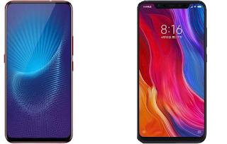 Xiaomi Mi 8 vs Vivo NEX