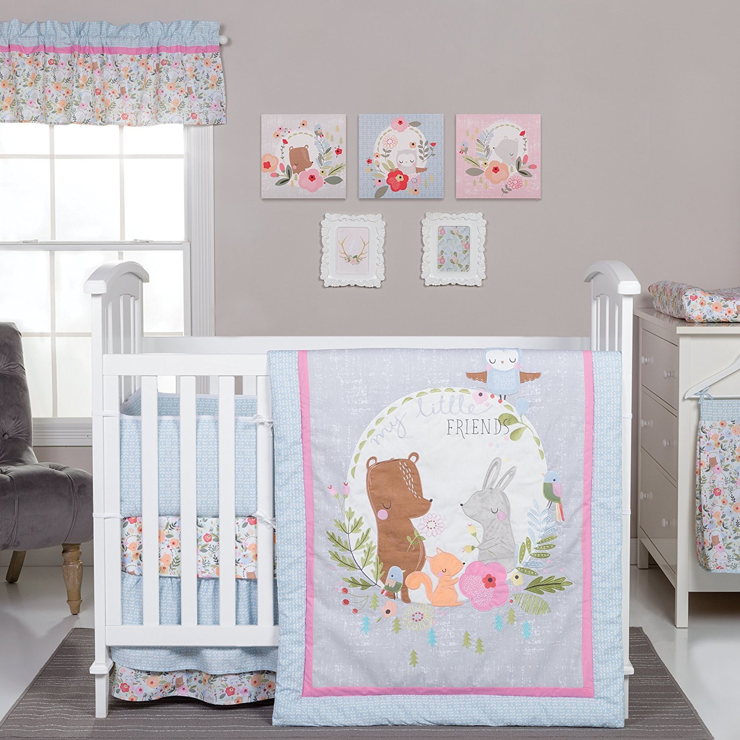 Cute Baby Rooms Vegan Mom Blog Therightonmom Woodland Animal Baby