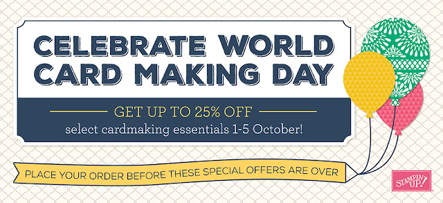 World Card Making Day Sale - Simply Stamping with Narelle - available here - http://www3.stampinup.com/ECWeb/ItemList.aspx?categoryid=30300&dbwsdemoid=4008228