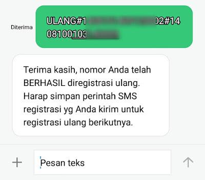 Cara UNREG Registrasi Kartu Paket Telkomsel