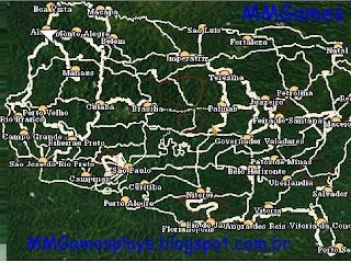 mapa do brasil 18 wos haulin