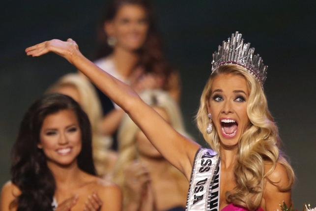 Olivia Jordan from Oklahoma wins the 2015 Miss USA pageant
