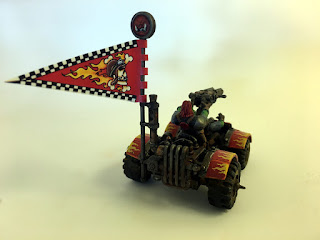 2nd Edition Ork War Buggy - Back