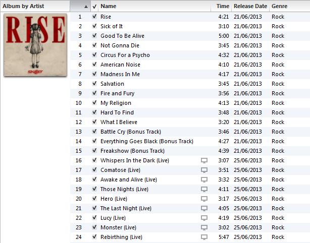 Skillet rise (deluxe edition) (álbum) | buenamusica. Com.