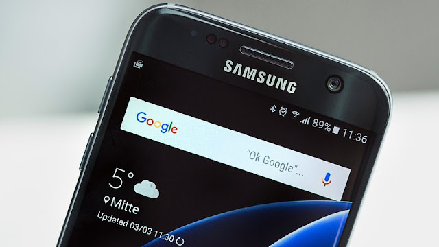 SAMSUNG GALAXY S7 IN THE TEST
