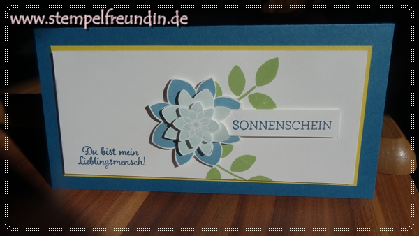 Jessika Tschenscher, www.stempelfreundin.de, Stampin' Up!, Für Lieblingsmenschen