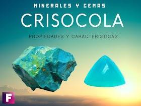 Crisocola - Propiedades y Caracteristicas