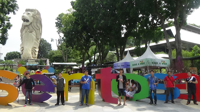 Lomba Robotik AYRO Internasional Singapura 2016 | Foto di Sentosa Island, Singapura