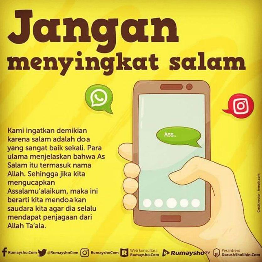gambar quotes islami tentang chatting