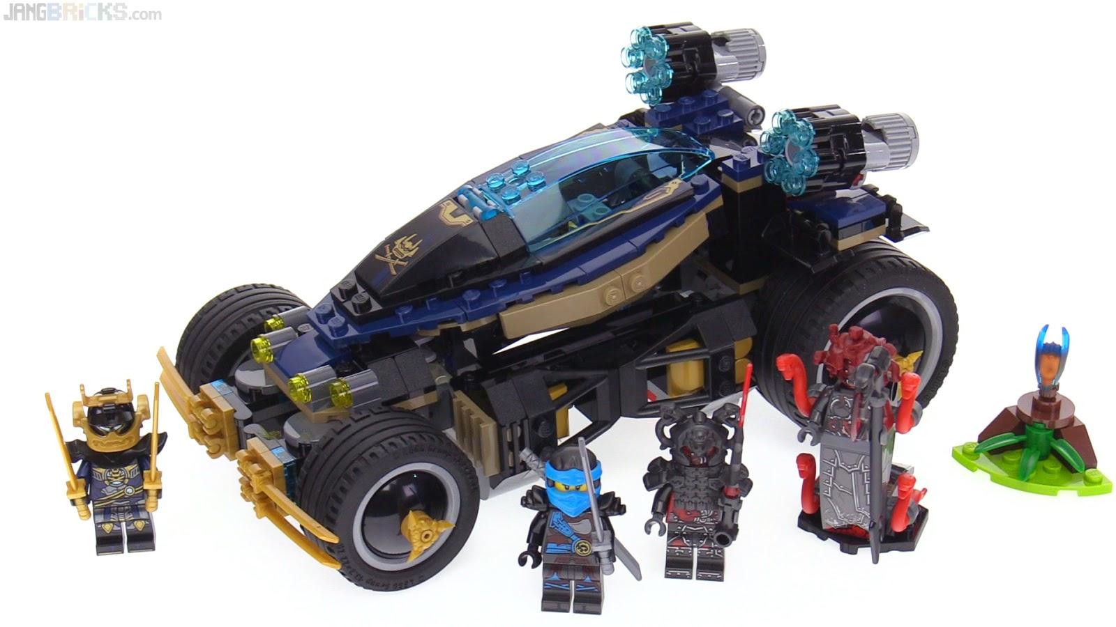 Ninjago Sumarai X Car