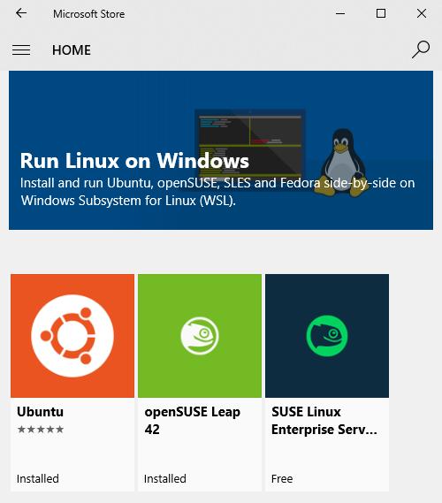 Using WSL on Windows 10 | the 200ok weblog