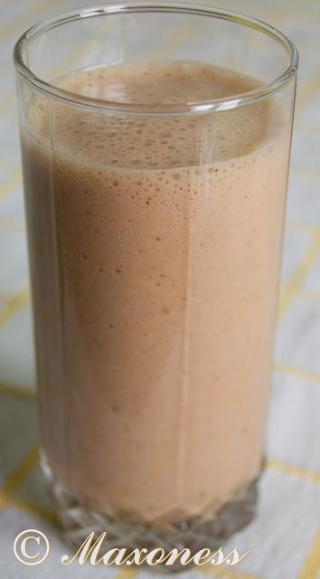 Шоколадно-банановый шейк