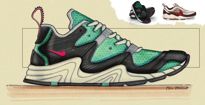 Trastornado feo mal humor  FashionDruggie's: Phil Padilla - Industrial Design. Nike Running Sketch