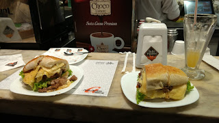 sanduiche gigante padaria bella paulista