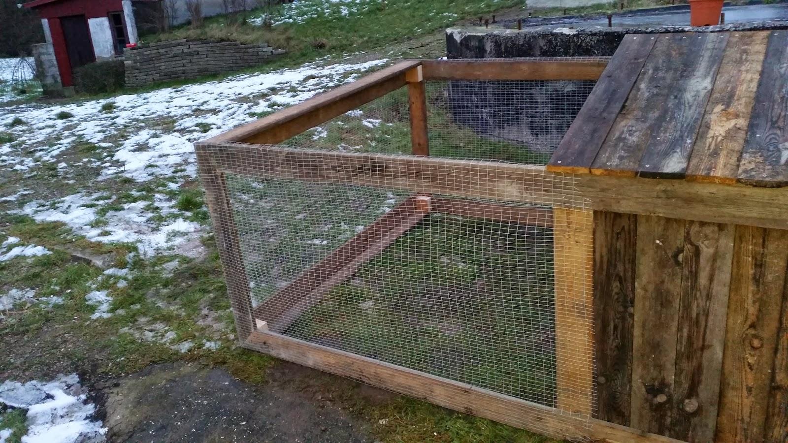 Byg selv kaninløbegård