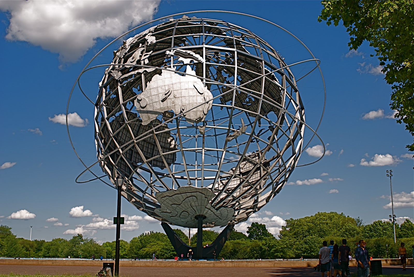 Nyc Nyc The Unisphere Of Flushing Meadows Corona Park