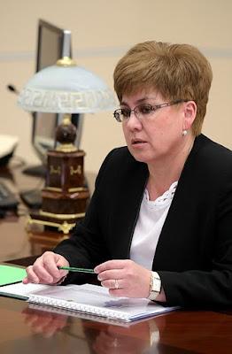 Governor of Trans-Baikal Territory Natalya Zhdanova.