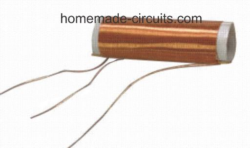 medium wave radio antenna coil