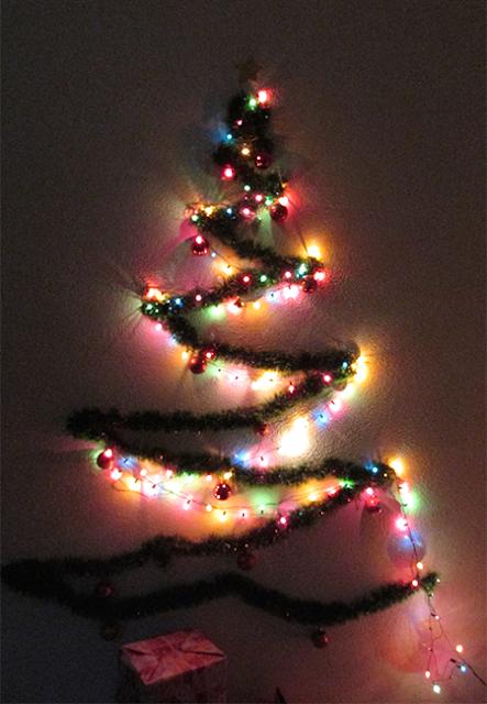 DIY Árvore de Natal: passo 7