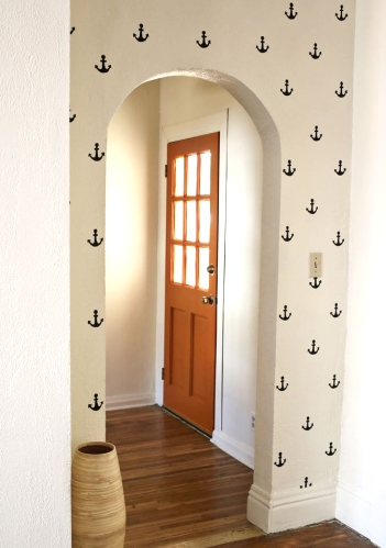 anchor wall stencils