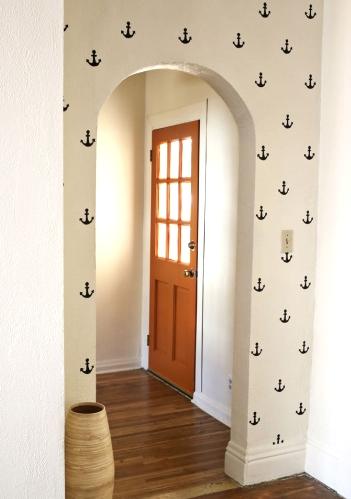 anchor wall stencils