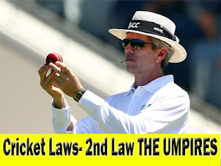Cricket Rules and Regulations - Rules and law of Cricket Umpire