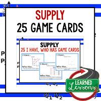Supply, Free Enterprise, Economics, Free Enterprise Lesson, Economics Lesson, Free Enterprise Games, Economics Games, Free Enterprise Test Prep, Economics Test Prep
