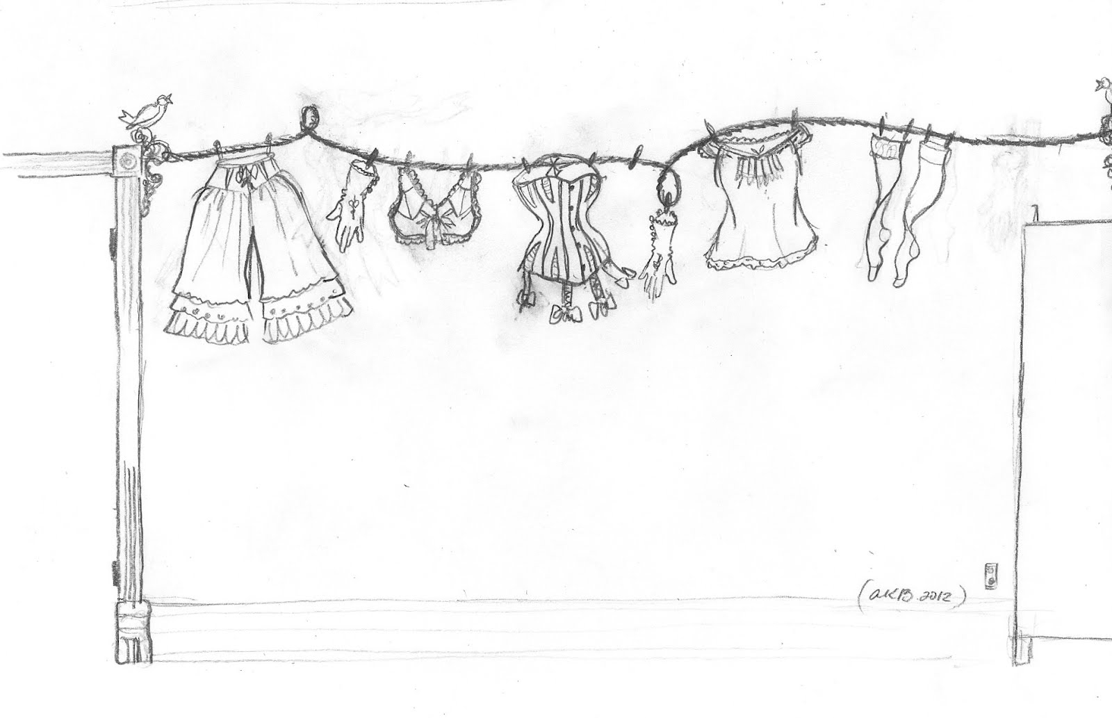 The Dusty Victorian: Victorian Underwear in my Laundry
