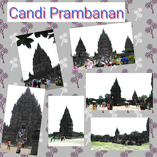 Obyek wisata Prambanan