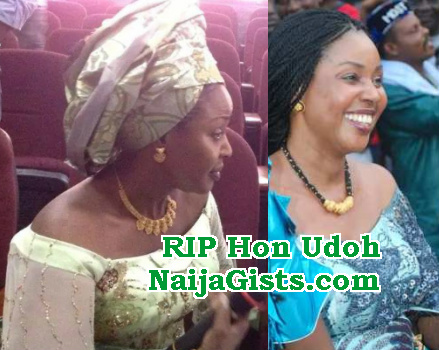 hon omawumi udoh is dead