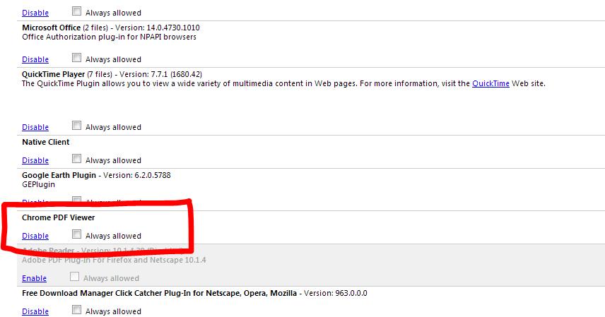 Chrome embed pdf