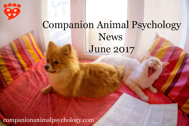 June 2017 news about dogs and cats