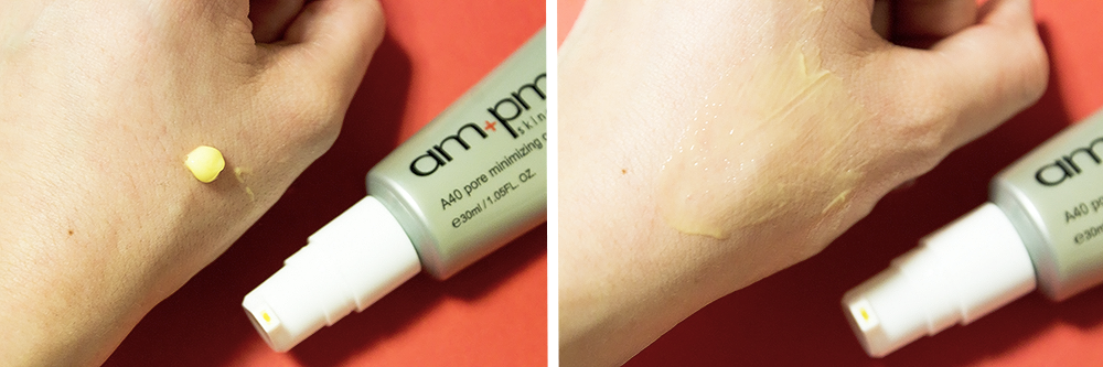 Naruko am+pm A40 Pore Minimizing Complex swatch