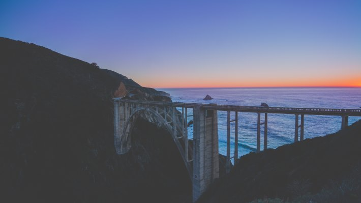 Wallpaper: Big Sur - Bixby Creek Bridge