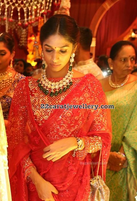 Mallika Reddy Polki Kundan Choker Jewellery Designs