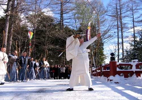 Musha-sai (Japanese Archery), Nikko City, Tochigi Pref.