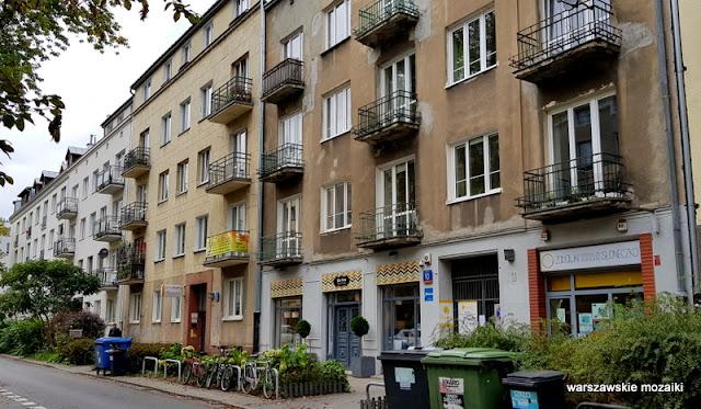 Warszawa Warsaw Kamienica warszawskie ulice architektura