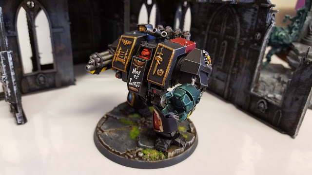 space marine dreadnought field police