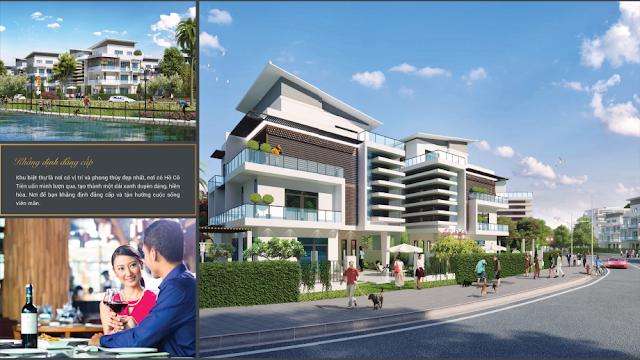 Biệt thự song lập dự án Mon Bay Hạ Long