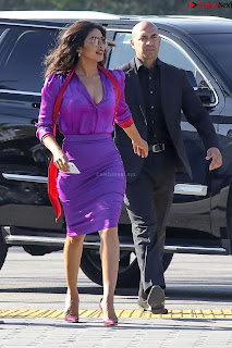 Priyanka Chopra in Beautiful Purple at universal studios ~ .xyz Exclusive 005.jpg